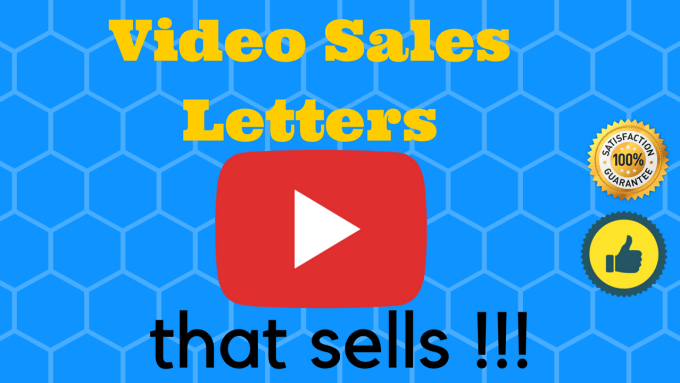 Create An Promotional Marketing Vsl Video Sales Letter By Iexplain