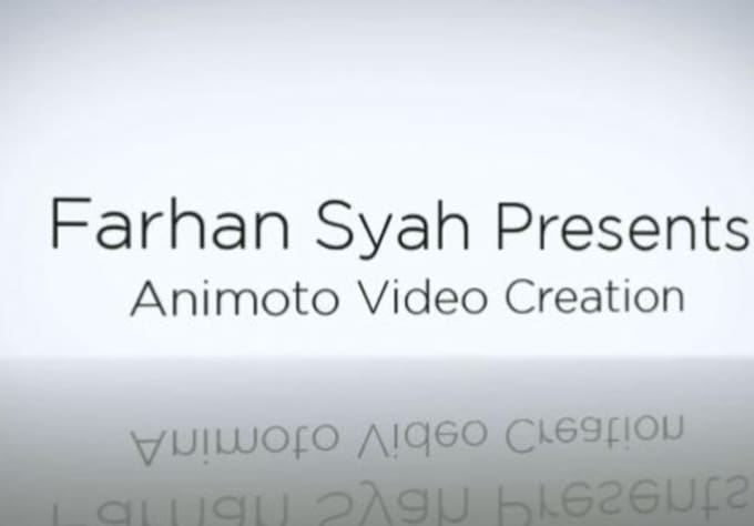 Create Up To 2 HD Professional And Unbranded Animoto Video For Business Personal Galleries