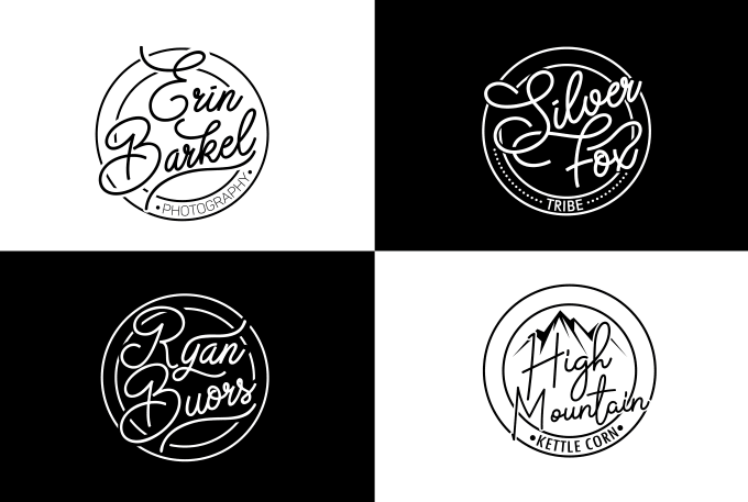 d983d3cd Do hand lettering font logo design for you by Rahima09
