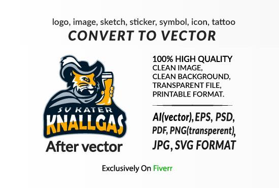 Do Vector Tracing Convert Logo To Vector