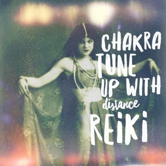rubyandiron : I will test your chakras and do a reiki healing session for  $15 on www fiverr com