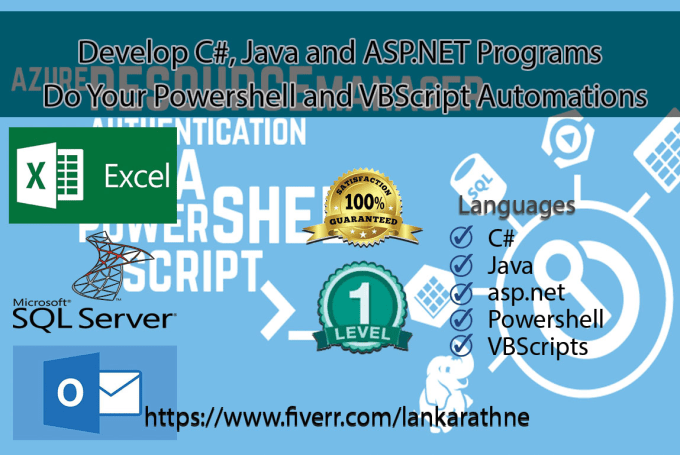 do your vbscript and powershell automation programs