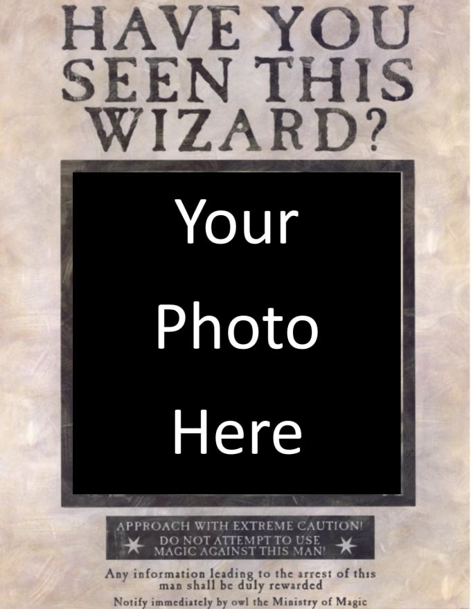 Create Your Own Wanted Poster