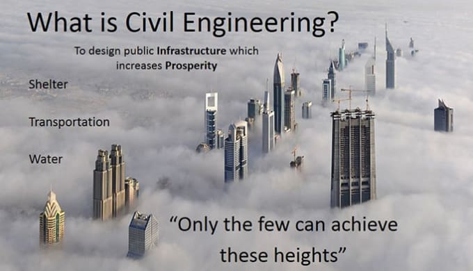 nation building role of civil engineers A civil engineer serves a role in the what is the role of the civil engineer a: the broader construction industry focused on building core infrastructure.