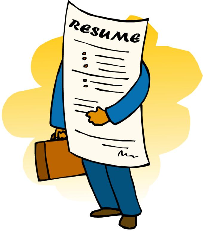 Image result for resume cartoon