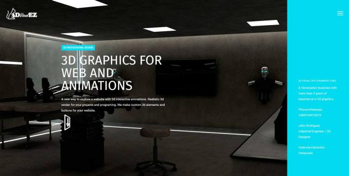 create a responsive wordpress website custom design
