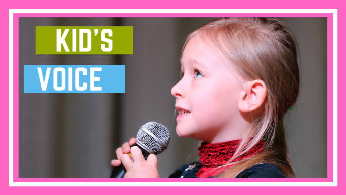 sing a kids song in a kids voice or childs voice