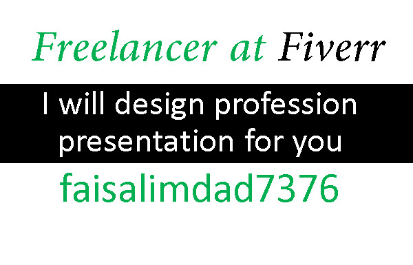 design professional powerpoint presentations for you by faisalimdad7376