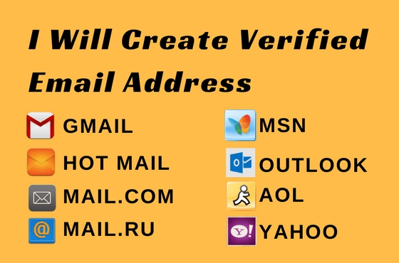Create valid and fresh mail account by Arpoddar