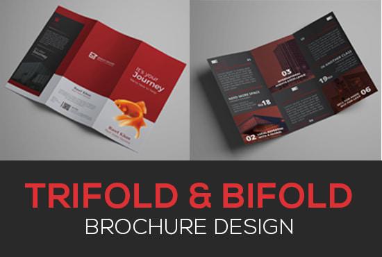 trifold brochure brochure design flyer design