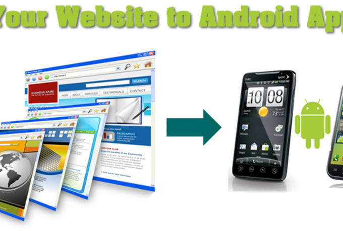 develop app for website,connection with web server