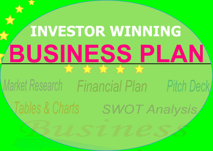 write an investor winning business plan and pitch deck by businessmagix