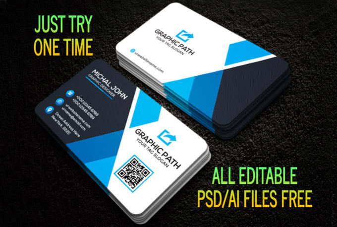 Create 4 different double sided business card by adarisha create 4 different double sided business card reheart Gallery