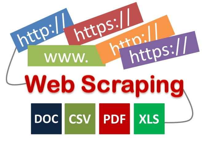 web scrape, extract, mine data from any website into CSV