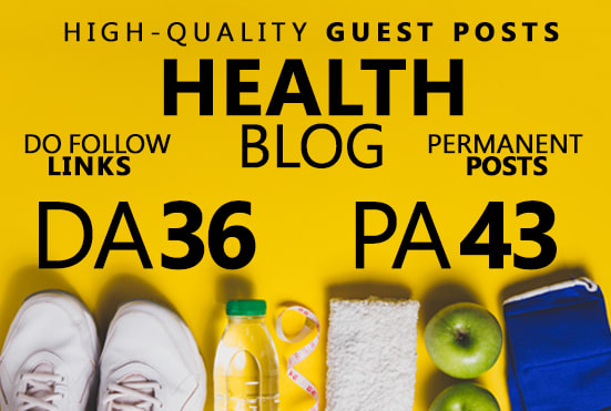 submit guest post on health blog