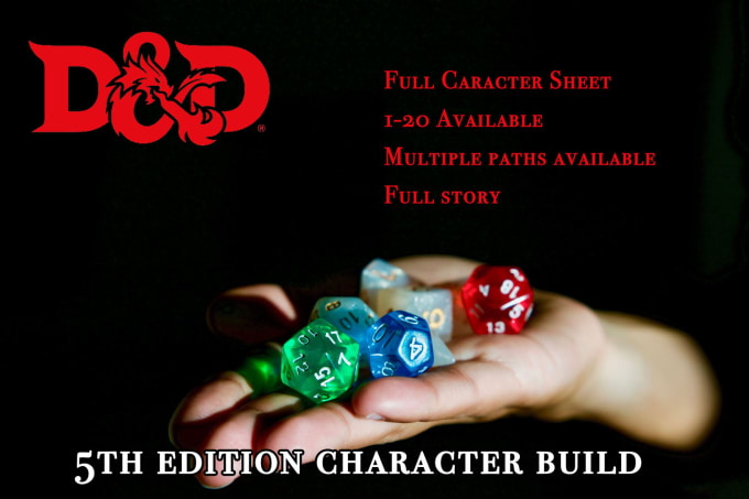 build you a dnd 5e character