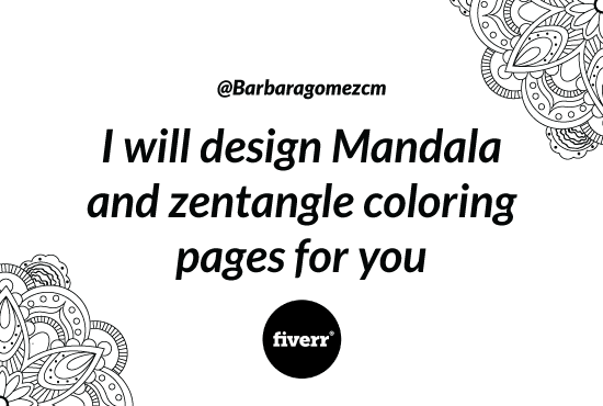 Design Mandala And Zentangle Coloring Pages For You