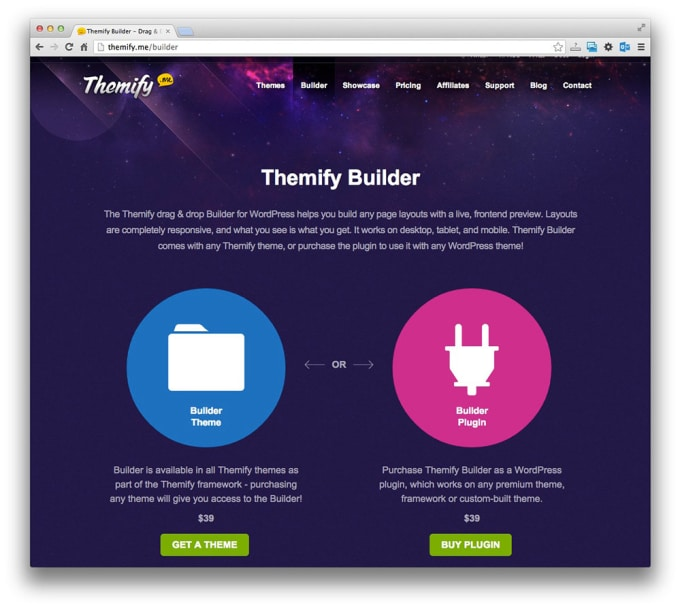 Build professional wordpress theme with themify builder by Dewyrasel