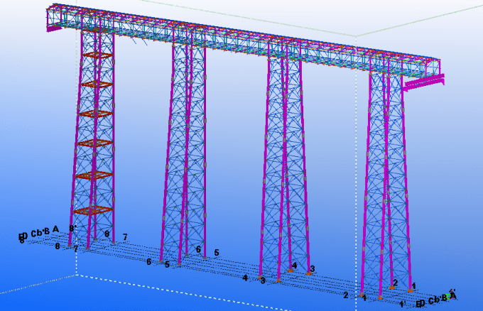 Working Tekla Structure And Autocad Software By Abubakkar7