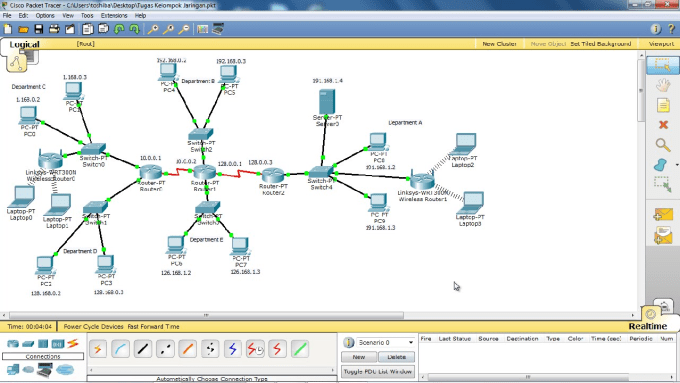 Design and configure cisco network by Wali2794 on