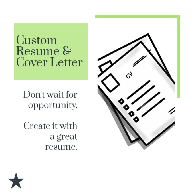 design your custom resume and cover letter