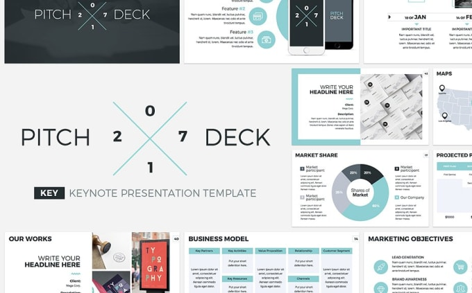 Design Investor Pitch Deck For Business By Iamsudipto - Vc deck template