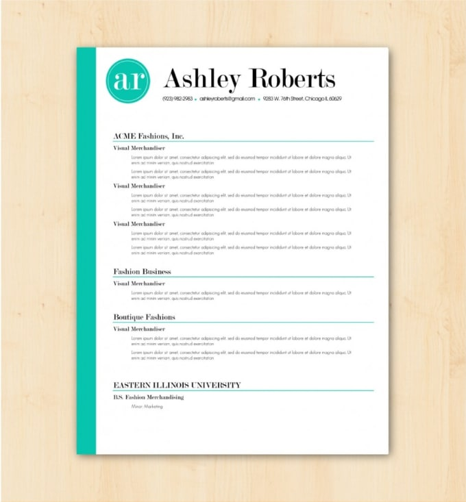 Make An Attractive Cv, Resume Design, And Cover Letters By