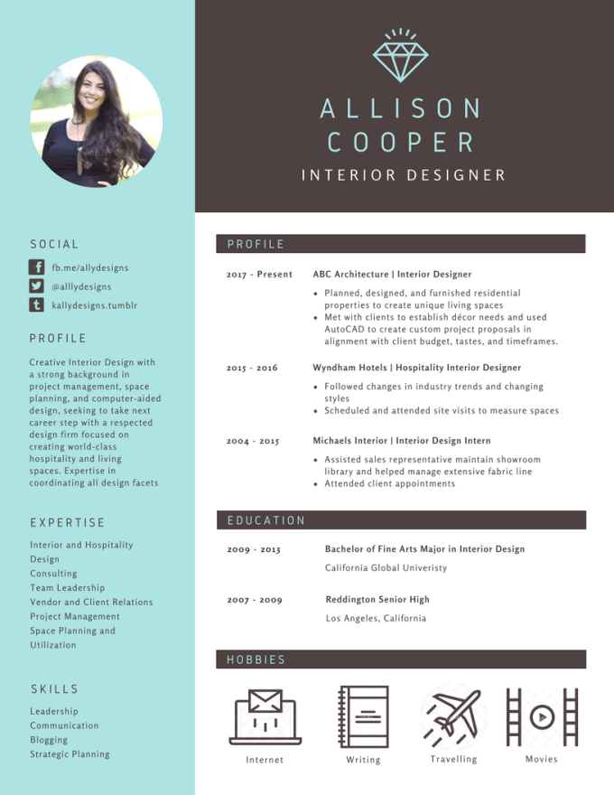 design and edit professional resume  cover letter and