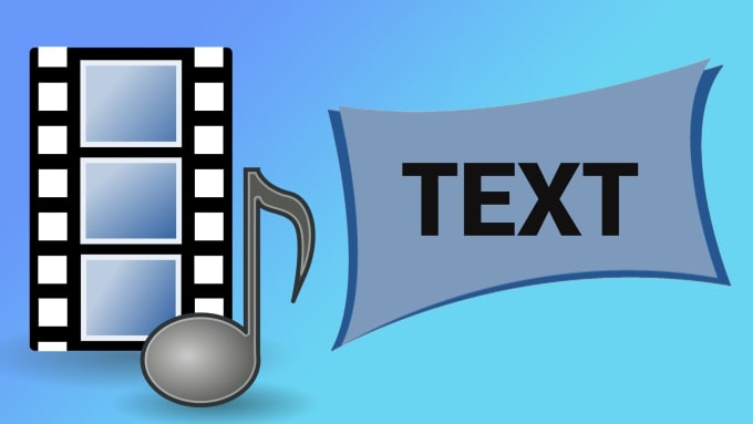 transcribe audio or video to text