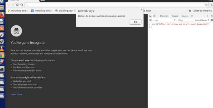 install javascript web app