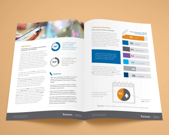 format whitepaper and company profile with professional graphic design