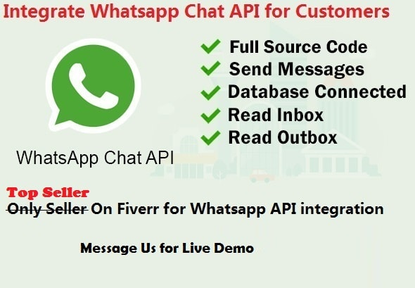 integrate whatsapp for business on your website