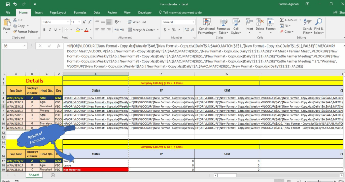 sachin6002 : I will do all work related to advance excel mis reports for $5  on www fiverr com