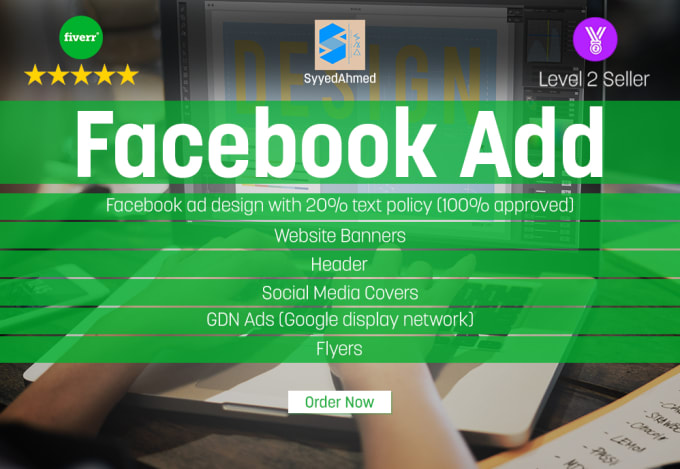 Design Awesome Facebook Ads Professionally By Syyedahmed Inspiration Awesome Display Pictures For Facebook