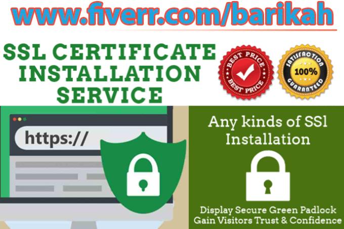 Install Ssl Https Or Setup Ssl Certificate In Your Webserver By Barikah
