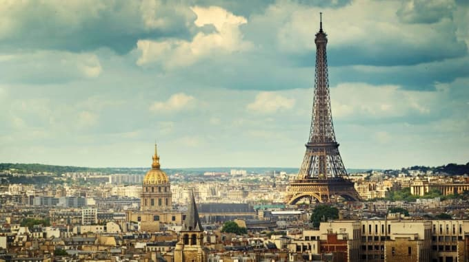 send a postcard from paris france to any address