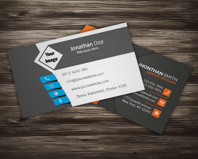 Make 5 professional business cards for your company by muhammadabid664 make 5 professional business cards for your company colourmoves