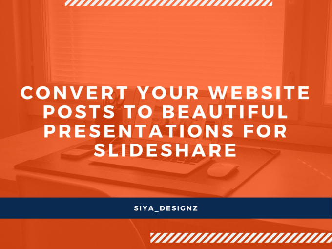 convert your website posts into ppt presentation for slideshare by