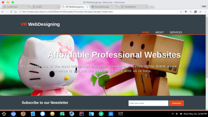 vipulrawatimi : I will build any type of website for you for $15 on  www fiverr com