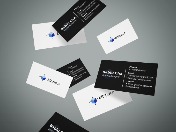 Design two sided business card within a one day by bablu946 design two sided business card within a one day colourmoves