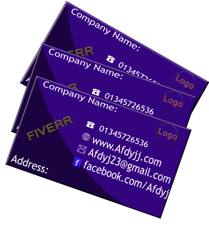 Design Business Card With Two Concepts By Poly913