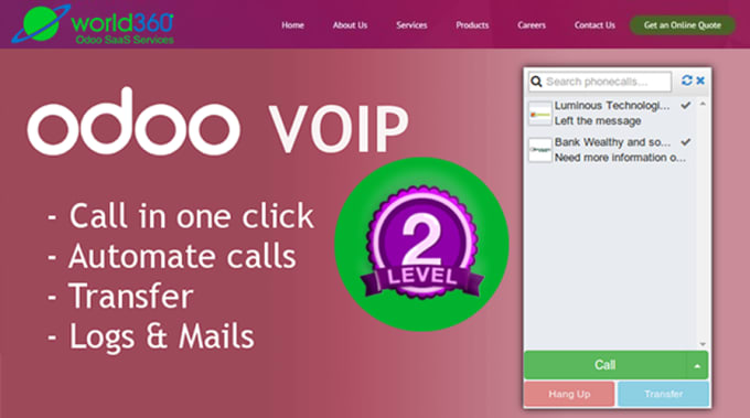 odoo asterisk voip integration for fully CRM and call center solutions