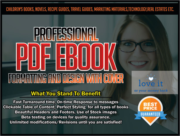Provide professional pdf ebook formatting and design with cover by provide professional pdf ebook formatting and design with cover by authorsdelight fandeluxe Choice Image
