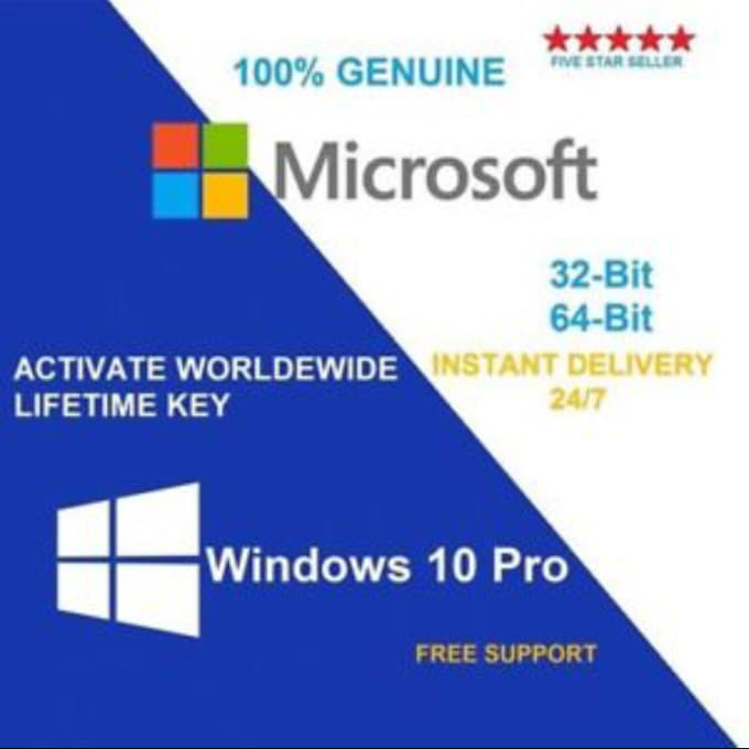 Windows 10 pro 32 64bit digital activation key send you windows 10 pro genuine activation key ccuart Image collections