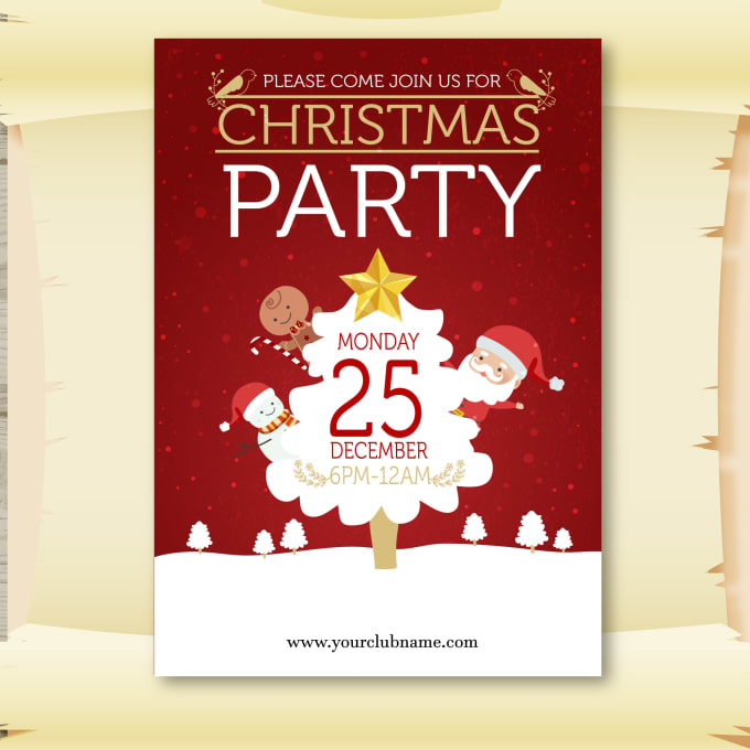 Design invitation cardchristmas card in 24 hours by gngtech design invitation cardchristmas card in 24 hours stopboris Image collections