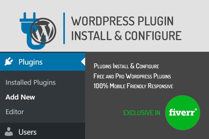 babu_tanvir : I will any wordpress plugin install and configure for $15 on  www fiverr com