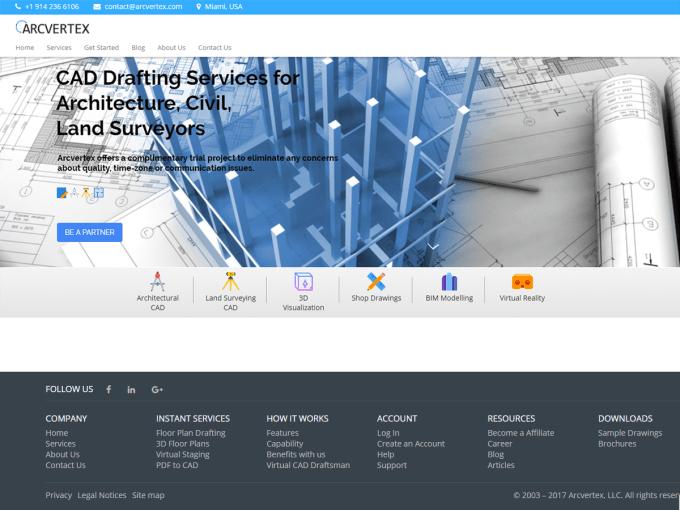 Create custom seo friendly wordpress website or theme by Arcvertex