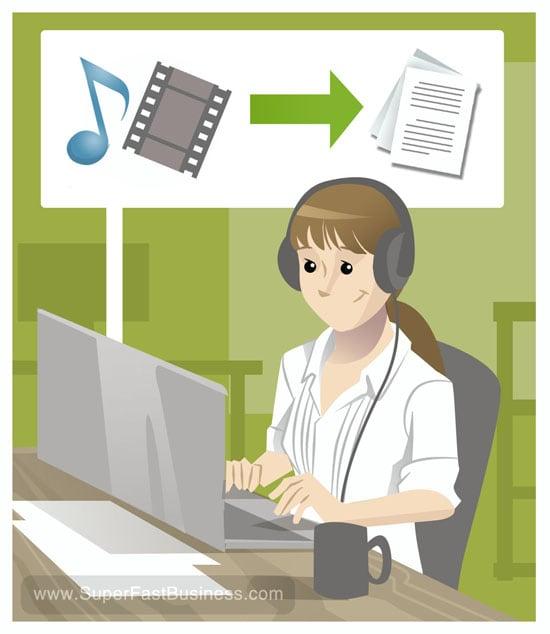 transcribe your audio file using aegisub