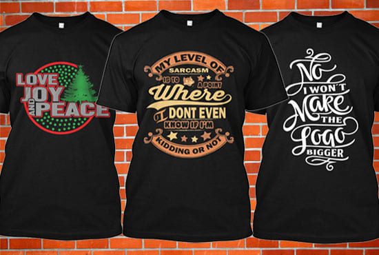 create typography and vintage t shirt design by rashel t