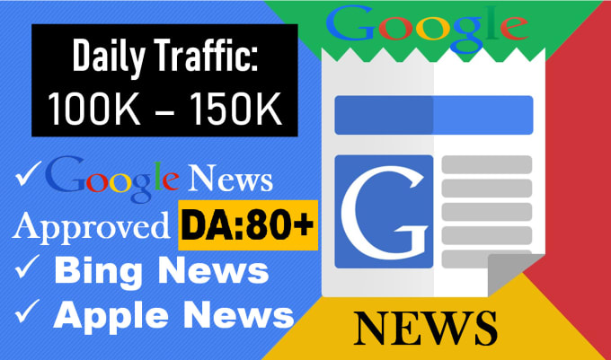 google news da80 guest post backlink to rank your site SEO
